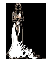 Создание свадебного образа невесты сотрудниками свадебного салона Артемида