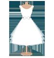 Каталог короткие свадебные платья
