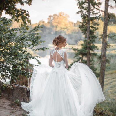 Свадебное платье с открытой спиной прокат в Минске