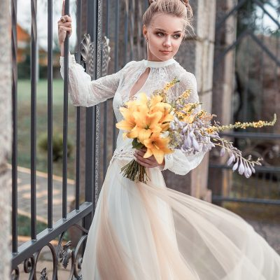 Купить кружевное белое платье в минске