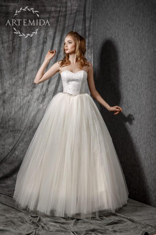 Пышные свадебные платья в минске напрокат купить пошив, свадебный салон Артемида. Свадебное платье на маленькую невесту. Свадебное платье для невесты маленького роста