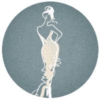 Эскиз свадебного платья