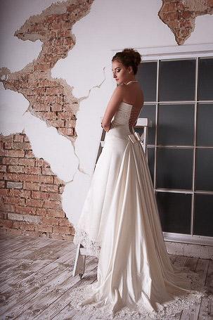Съемка свадебного платья на невесте