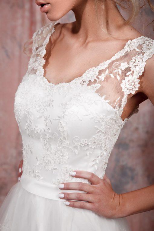 Роскошное свадебное платье в прокат в Минске