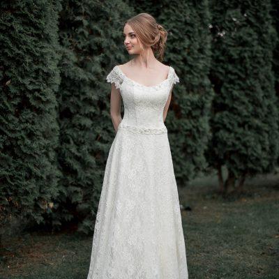 купить Кружевное свадебное платье А силуэта Ann купить в Минске 2016