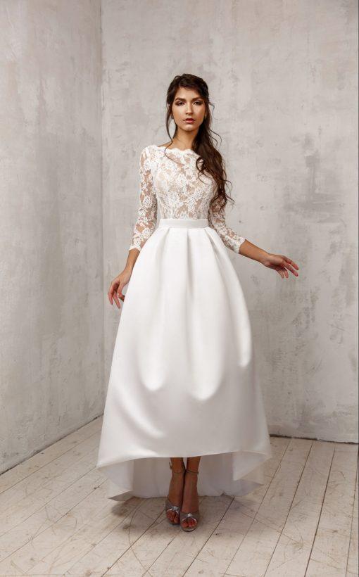 Короткое свадебное платье Минск