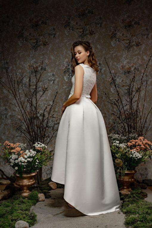 Короткое свадебное платье фото цены